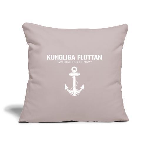 Kungliga Flottan - Swedish Royal Navy - ankare - Soffkuddsöverdrag, 45 x 45 cm