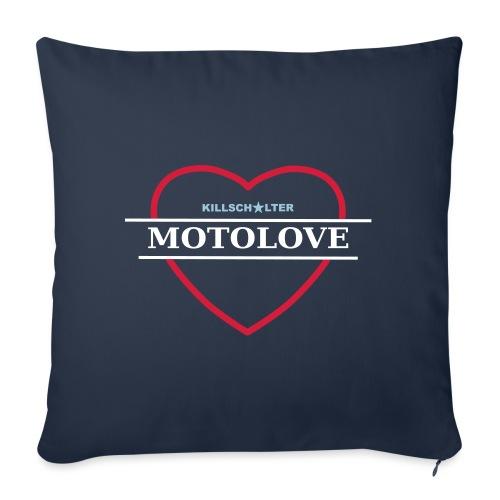 MOTO LOVE - Sofa pillowcase 17,3'' x 17,3'' (45 x 45 cm)