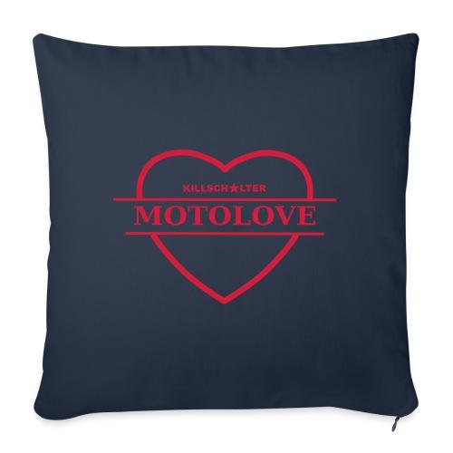 MOTOLOVE 9ML02 B - Sofa pillowcase 17,3'' x 17,3'' (45 x 45 cm)