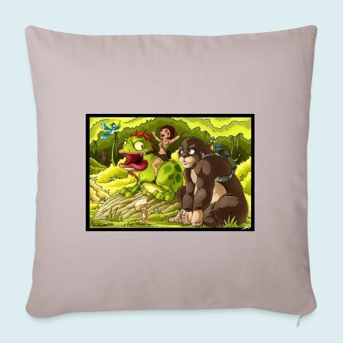 jungle - Copricuscino per divano, 45 x 45 cm