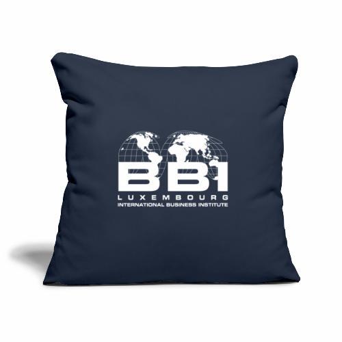White Logo Collection - Sofa pillowcase 17,3'' x 17,3'' (45 x 45 cm)