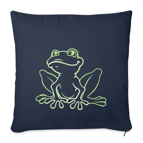 grenouille - Housse de coussin décorative 45x 45cm