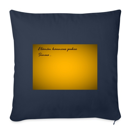Kirje... - Sohvatyynyn päällinen 45 x 45 cm