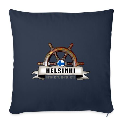 Helsinki Ruori - Merelliset tekstiilit ja lahjat - Sohvatyynyn päällinen 45 x 45 cm