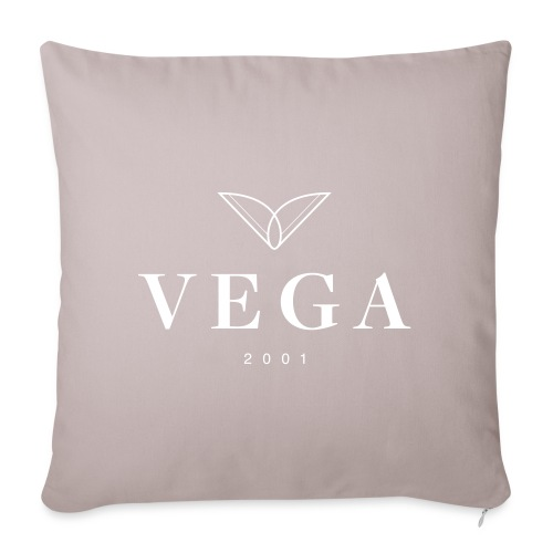 VEGA logo - Pudebetræk 45 x 45 cm