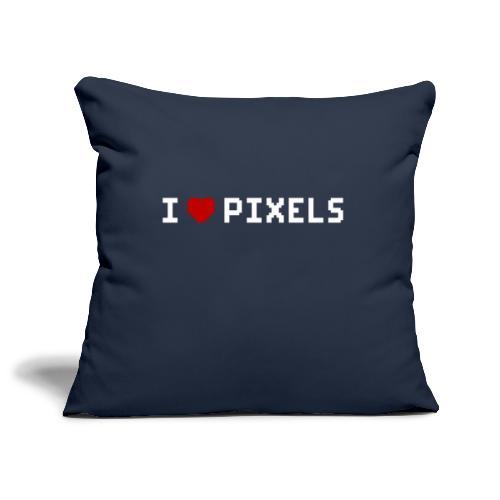 I Love Pixels - Pudebetræk 45 x 45 cm