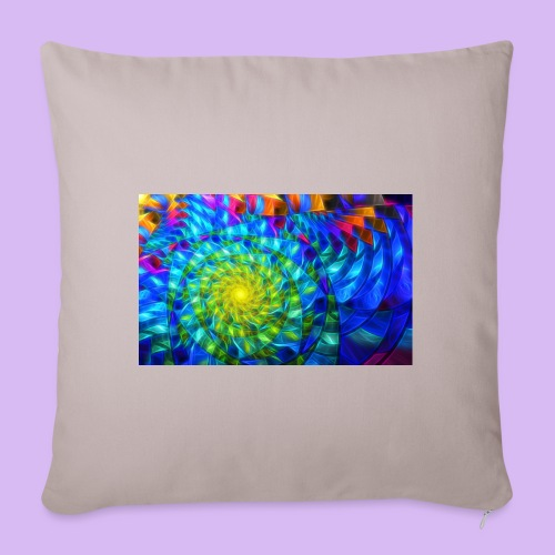 Astratto luminoso - Copricuscino per divano, 45 x 45 cm