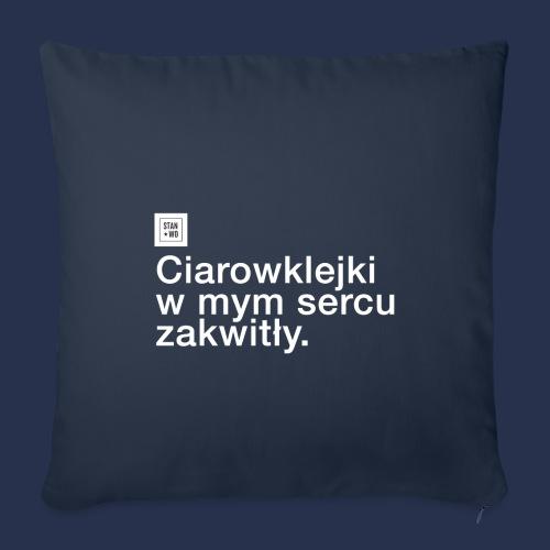 CIAROWKLEJKI - jasne - Poszewka na poduszkę 45 x 45 cm
