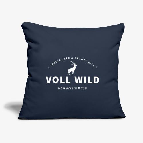 Voll wild // Temple Yard & Beauty Hill - Sofakissenbezug 44 x 44 cm