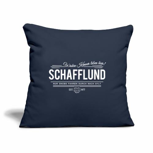 Schafflund - für Kenner 2 - Sofakissenbezug 44 x 44 cm