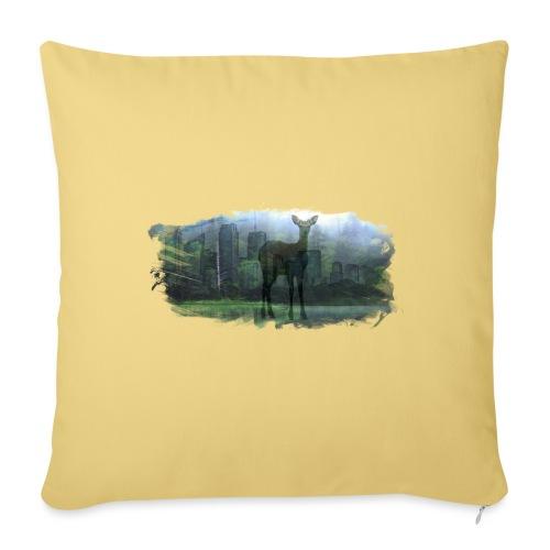 Nature in the City - Sofa pillowcase 17,3'' x 17,3'' (45 x 45 cm)