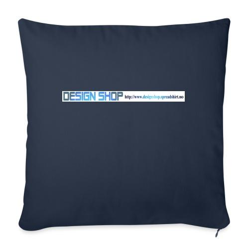 ny logo lang - Sofaputetrekk 45 x 45 cm