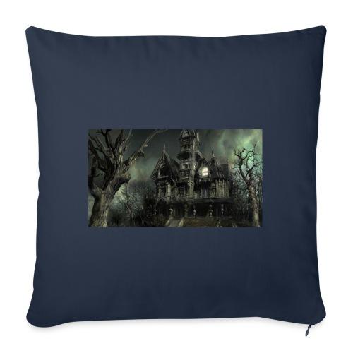 Casa embrujada - Funda de cojín, 45 x 45 cm
