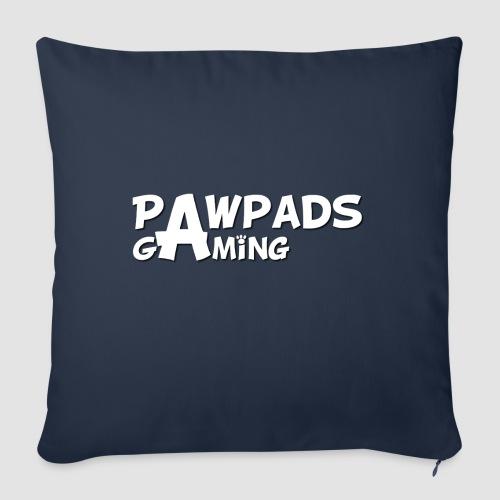 PawPads Gaming TEXT logo - Sofa pillowcase 17,3'' x 17,3'' (45 x 45 cm)