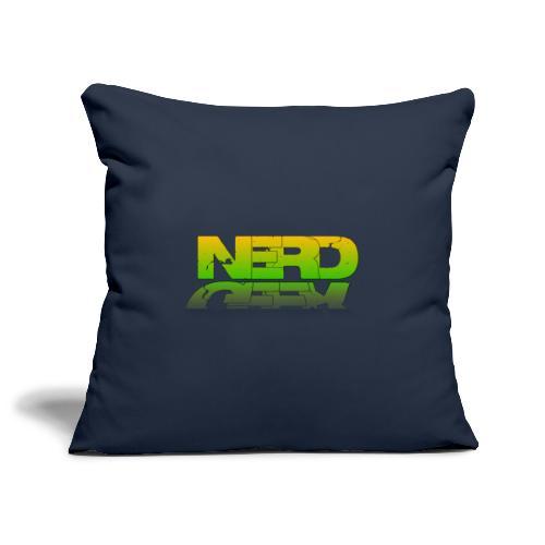 nerd geek - Housse de coussin décorative 45x 45cm