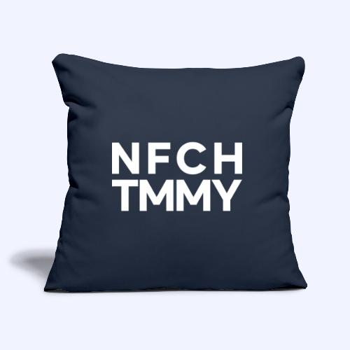 Einfach Tommy / NFCHTMMY / White Font - Sofakissenbezug 44 x 44 cm