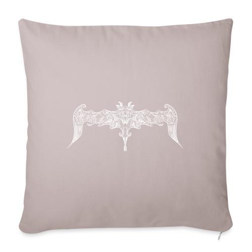 Pipistrello gotico stilizzato - Copricuscino per divano, 45 x 45 cm