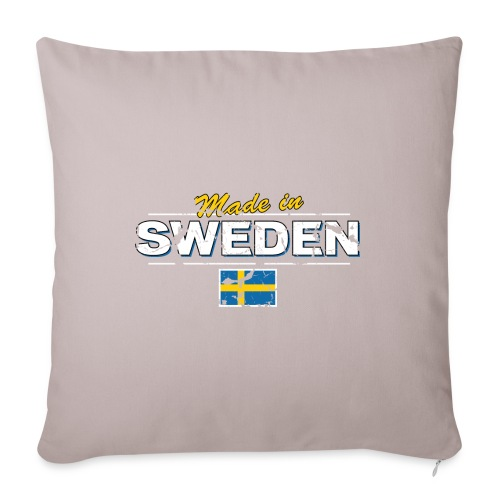 MADE IN SWEDEN - Sofa pillowcase 17,3'' x 17,3'' (45 x 45 cm)