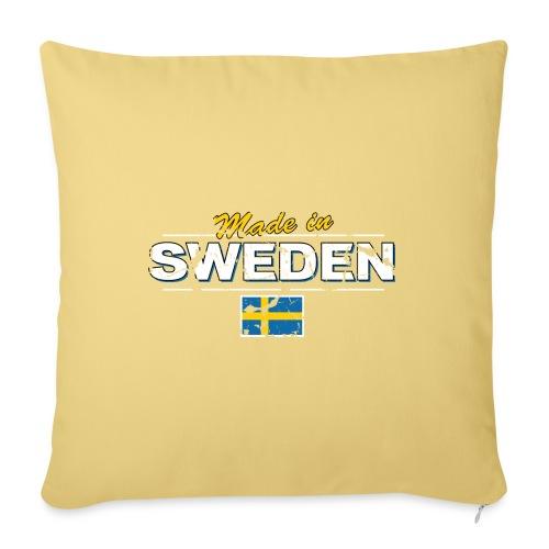 MADE IN SWEDEN - Sofa pillowcase 17,3'' x 17,3'' (45 x 45 cm)