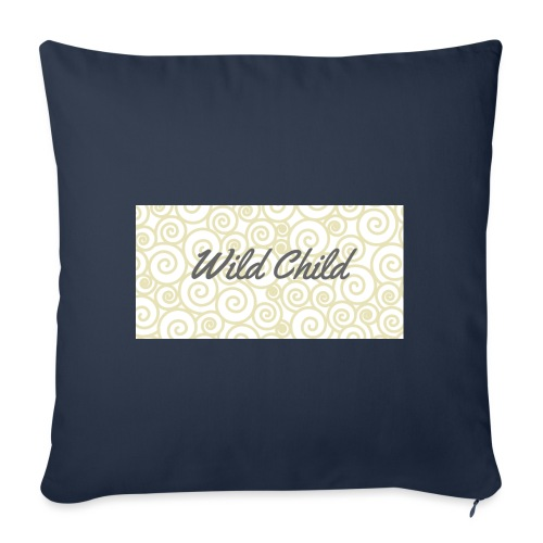 Wild Child 1 - Sofa pillowcase 17,3'' x 17,3'' (45 x 45 cm)