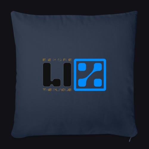 LIZ Before the Plague (Logo) - Copricuscino per divano, 45 x 45 cm