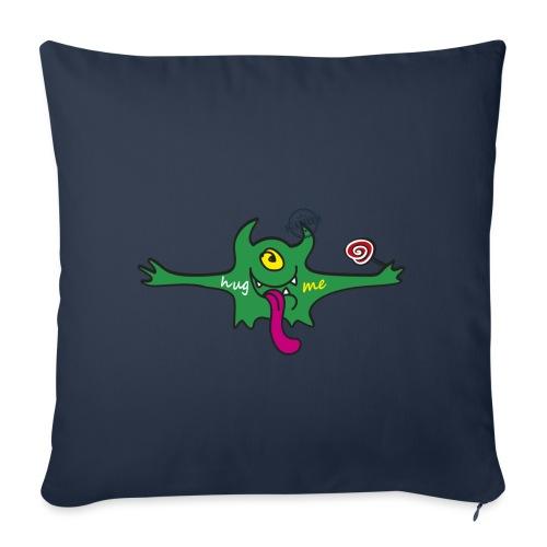 Hug me Monsters Every little monster needs a hug - Sofa pillowcase 17,3'' x 17,3'' (45 x 45 cm)