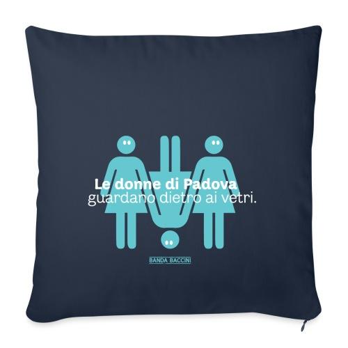 Le donne di Padova. - Copricuscino per divano, 45 x 45 cm
