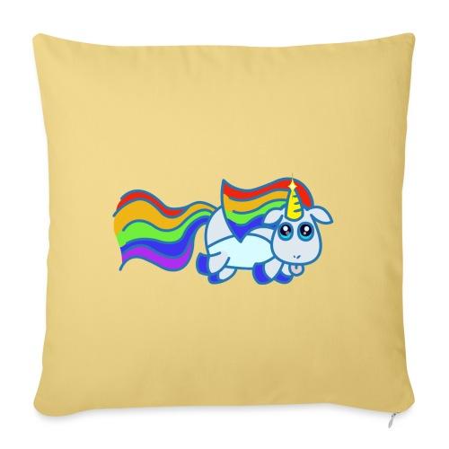 Nyan unicorn - Copricuscino per divano, 45 x 45 cm