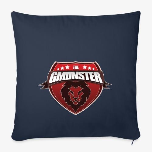 TheGMonster Logo Grand - Housse de coussin décorative 45x 45cm