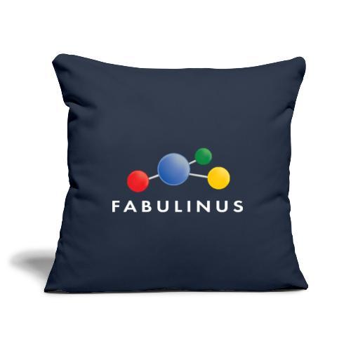 Fabulinus logo enkelzijdig - Sierkussenhoes, 45 x 45 cm