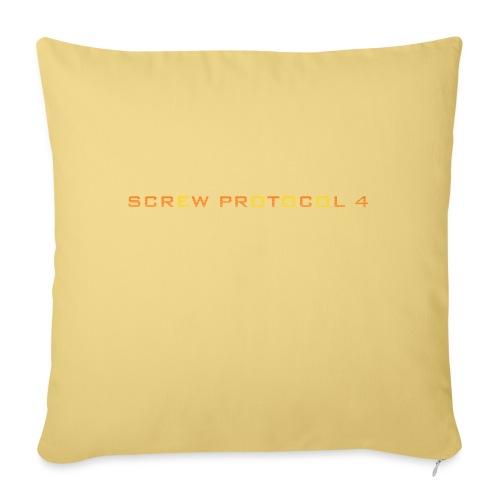 ScrewP4 Final - Sofa pillowcase 17,3'' x 17,3'' (45 x 45 cm)