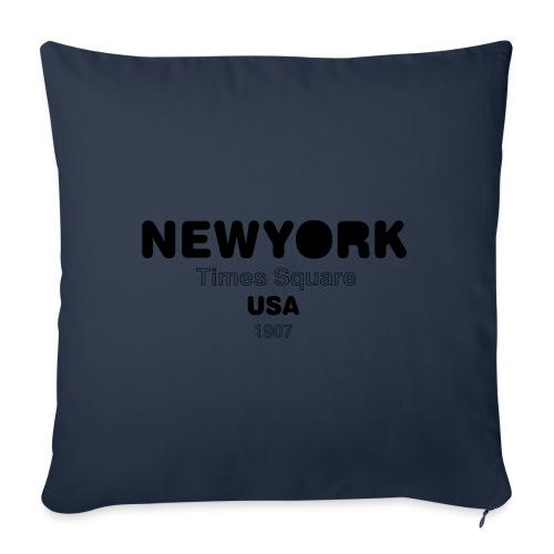 NewYork USA - Housse de coussin décorative 45x 45cm