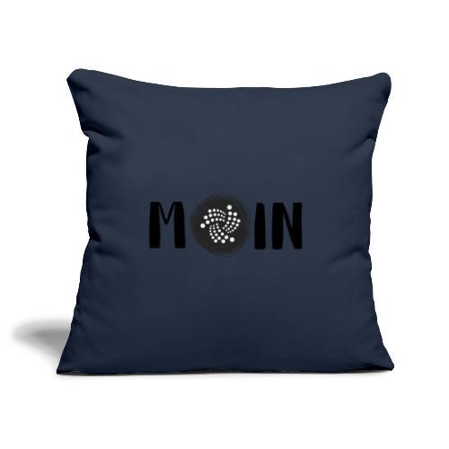 MOIN IOTA | BTC, Kryptowährung | IOTA Shirt - Sofakissenbezug 44 x 44 cm
