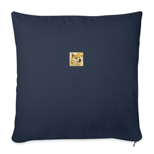 tiny dog - Sofa pillowcase 17,3'' x 17,3'' (45 x 45 cm)