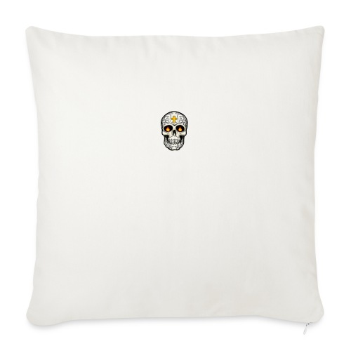 tete de mort - Housse de coussin décorative 45x 45cm
