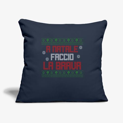 Il regalo di Natale perfetto - Copricuscino per divano, 45 x 45 cm