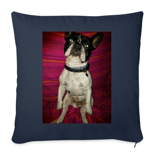 Bulldog francés Sit - Funda de cojín, 45 x 45 cm