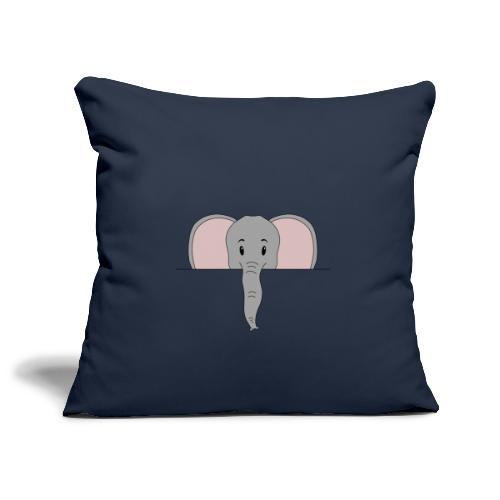 Elefant Marvin - Sofakissenbezug 44 x 44 cm