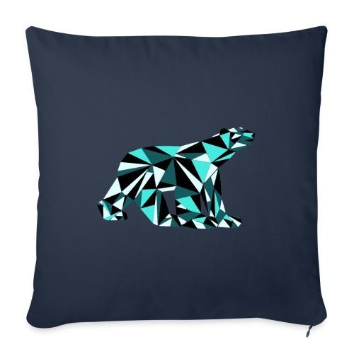 L'Ours de Pompon - Housse de coussin décorative 45x 45cm