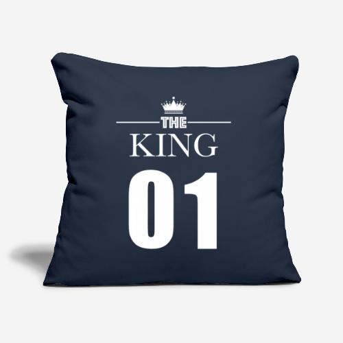 KING 01 (King & Queen) - Housse de coussin décorative 45x 45cm