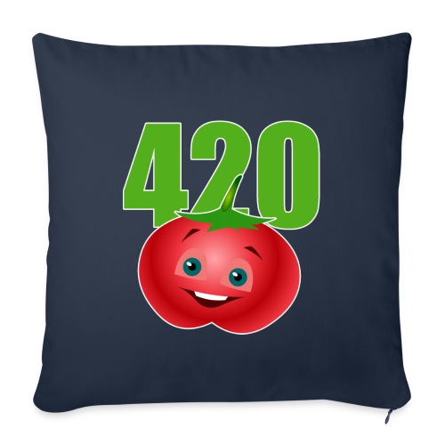 Tomate 420 - Sofakissenbezug 44 x 44 cm