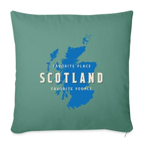 Scotland: Favorite Place, Favorite People - Sofakissenbezug 44 x 44 cm