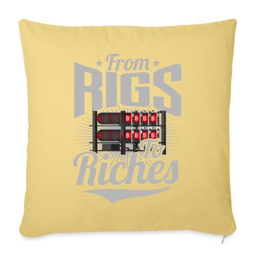 From Rigs To Riches - Housse de coussin décorative 45x 45cm
