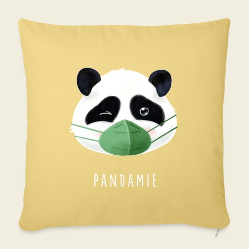 Pandamie - Sofakissenbezug 44 x 44 cm