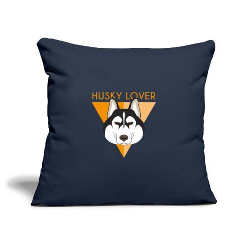 Husky - Brown - Copricuscino per divano, 45 x 45 cm
