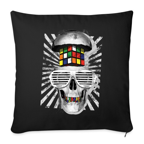 Rubik's Skull Cube - Sofa pillowcase 17,3'' x 17,3'' (45 x 45 cm)