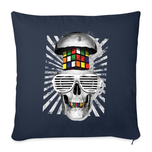 Rubik's Skull Cube - Sofa pillowcase 17,3'' x 17,3'' (45 x 45 cm)