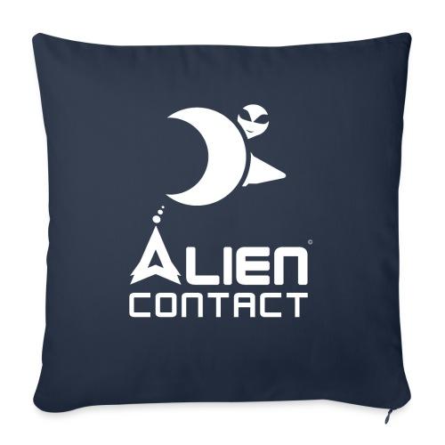 Alien Contact - Copricuscino per divano, 45 x 45 cm