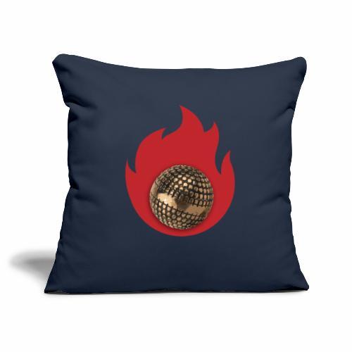 petanque fire - Housse de coussin décorative 45x 45cm