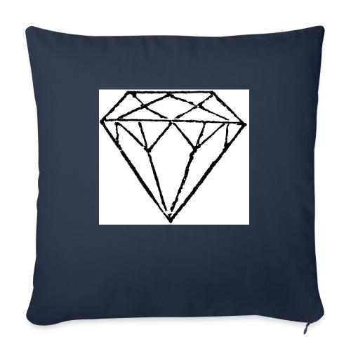 Diamond - Soffkuddsöverdrag, 45 x 45 cm